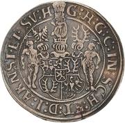 1 Thaler - Günther XLI. – obverse