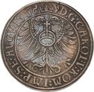 1 Thaler - Günther XLI. – reverse