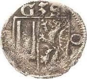 1 Pfennig - Balthasar II., Günther XXXIX. und Heinrich XXXI. – obverse