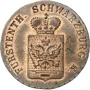 3 Pfenninge - Friedrich Günther – obverse