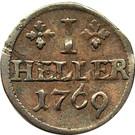 1 Heller - Ludwig Günther II. – reverse