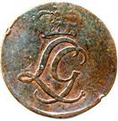 ½ Pfennig - Ludwig Günther II. – obverse