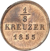 ⅛ Kreuzer - Friedrich Günther – reverse