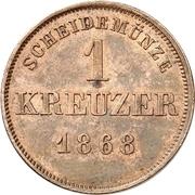1 Kreuzer - Albert – reverse