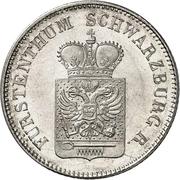 6 Kreuzer - Friedrich Günther – obverse
