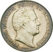 1 Gulden - Friedrich Günther – obverse