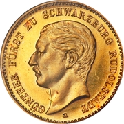 10 Mark - Günther Viktor – obverse