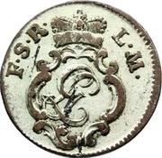 6 Pfennig - Ludwig Günter II – obverse