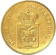 6 Kreuzer - Friedrich Günther (Gold Pattern) – obverse