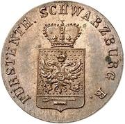 1 Pfenning - Friedrich Günther – obverse
