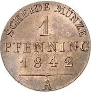 1 Pfenning - Friedrich Günther – reverse