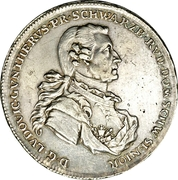 1 Thaler - Ludwig Günther II – obverse