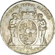 1 Thaler - Ludwig Günther II – reverse
