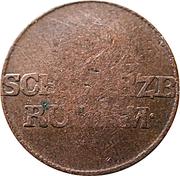 1 Pfennig - Ludwig Friedrich II – obverse
