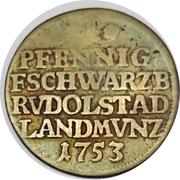1 Pfennig - Johann Friedrich – reverse