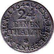 1/24 Thaler - Johann Friedrich – reverse
