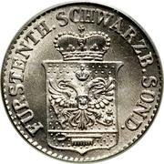 ½ Silber Groschen - Günther Friedrich Karl II – obverse