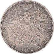 1 Vereinsthaler - Günther Friedrich Karl II – reverse