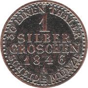 1 Silber Groschen - Günther Friedrich Karl II – reverse