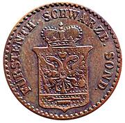 1 Pfennig - Günther Friedrich Karl II – obverse