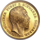 20 Mark - Karl Günther – obverse