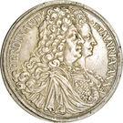 1 Thaler - Ferdinand Wilhelm Eusebius & Maria Anna (Vienna) – obverse