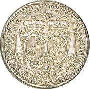 1 Thaler - Ferdinand Wilhelm Eusebius & Maria Anna (Vienna) – reverse