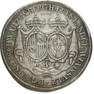 1 Thaler - Ferdinand Wilhelm Eusebius & Maria Anna (Kremnitz) – reverse