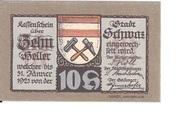 10 Heller (Schwaz) – reverse