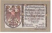 30 Heller (Schwaz) -  obverse