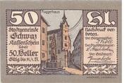 50 Heller (Schwaz) – obverse