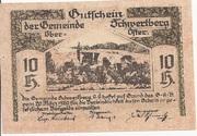 10 Heller (Schwertberg) -  obverse