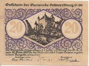 20 Heller (Schwertberg) -  obverse