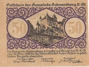 50 Heller (Schwertberg) -  obverse