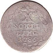 10 Schilling / ¼ Gulden – reverse