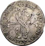 20 Schillings / ½ Gulden – reverse