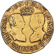 1 Ducat - Mary I (2nd Period) – obverse