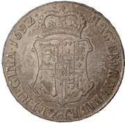 60 Shillings - William & Mary – reverse
