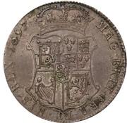 40 Shillings - William II – reverse
