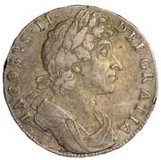 40 Shillings - James VII – obverse