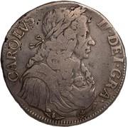 4 Merks - Charles II (1st Coinage) – obverse