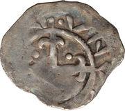 1 Penny - David I (Period D) – reverse