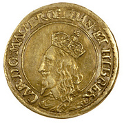 1 Britain Halfcrown - Charles I (3rd Coinage, 1st Issue) – obverse