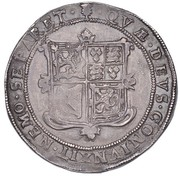 60 Shillings - Charles I (1st Coinage) – reverse
