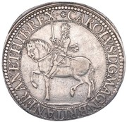 30 Shillings - Charles I (3rd Coinage, 1st Issue) – obverse