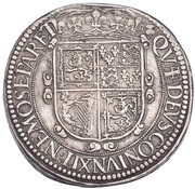 30 Shillings - Charles I (3rd Coinage, 1st Issue) – reverse