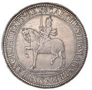 60 Shillings - Charles I (3rd Coinage, 1st Issue) – obverse