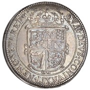60 Shillings - Charles I (3rd Coinage, 1st Issue) – reverse