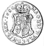 60 Shillings - William II – reverse