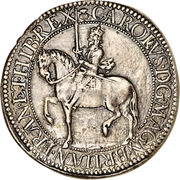 30 Shillings - Charles I (3rd Coinage, 5th Issue) – obverse
